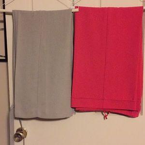 Dress Slacks Trousers 2 Pair Bundle Size 8R